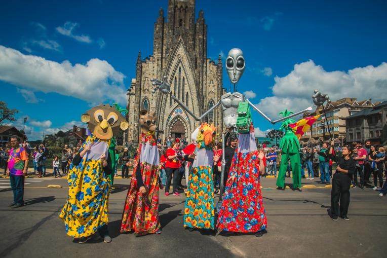 Bonecos 2019 - Festival de Bonecos de Canela